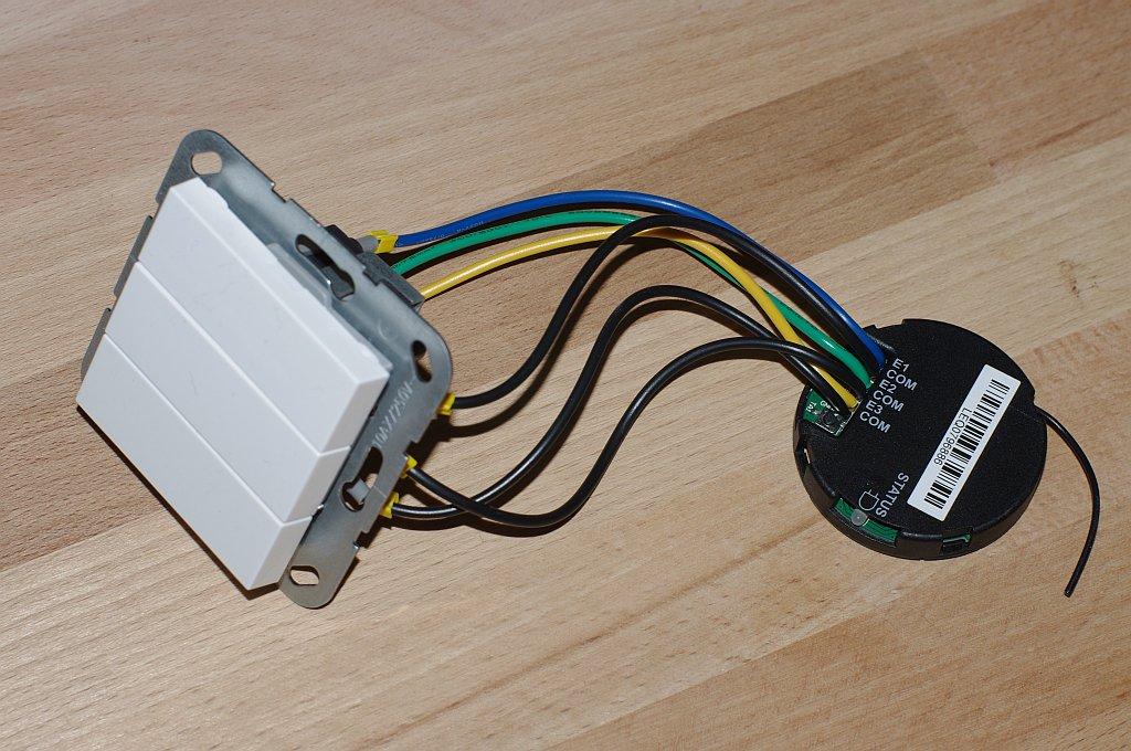 lichtschalter steckdosen und hausautomation aufr sten connected things. Black Bedroom Furniture Sets. Home Design Ideas