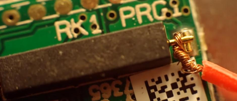 Kleiner Hardwarehack: HomeMatic HM-Sec-Sc als Breakoutboard